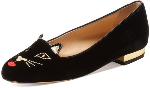 Kitty Loafer Black